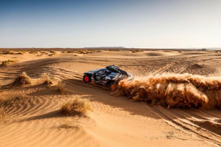 Dakar 2022: az Audi Sport most az idővel versenyez
