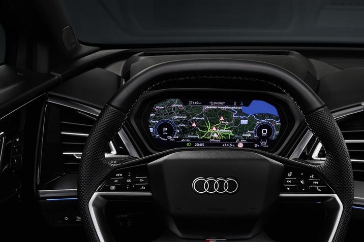 Audi Q4 e-tron belső